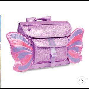 Bixbee Sparkalicious Pink Butterflies Backpack